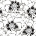 2 Paper Napkins / Serviettes for Decoupage / Parties / Weddings - Night Flowers