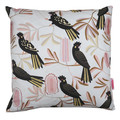 Australian Flora & Fauna - Black Cockatoos - Cushion Cover