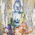 2 Paper Napkins / Serviettes for Decoupage / Parties / Weddings - Buddha