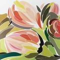 2 Paper Napkins / Serviettes for Decoupage / Parties / Weddings - Tulips