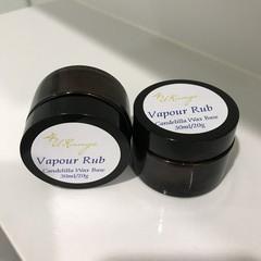 Vapour Rub - Vegan Friendly 30ml/20g