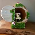 'Terracotta Fairy House'