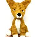 Dingo, FREE DELIVERY, Australian animal, crochet toy, baby boy toy, girl toy