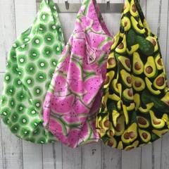Fruits & Veg Reusable Grocery Bags