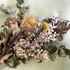 Country Side - Dry bouquet - Dried flowers - 40cm - Banksia - Natural - Eucalypt