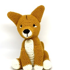 Dingo, FREE DELIVERY, Australian animal, crochet toy, baby boy toy, girl toy