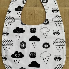 Sharon's Kitty Baby Bib
