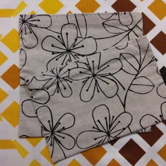 Handy Bags- Modern floral line print