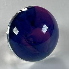 Handmade resin ring