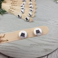 THIMBLE - Sewing Button - Stud Earrings