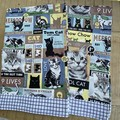 Sharon's  Cat Themed Tea Towels