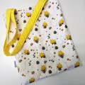 Bumble Bee || Personalised Library Bag || Kids Tote Bag