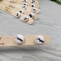 SCISSOR - Sewing Button - Stud Earrings