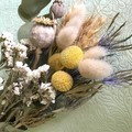 Natural Vibe - Dry bouquet - Dried flowers - 30cm - Natural - Boho - Decor