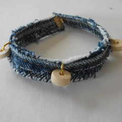 Dagwood - Denim bracelet