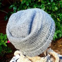 Woollen slouchy in shades of grey