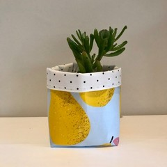 Small fabric planter | Storage basket | PEARS