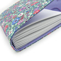 Lavender Flower Garden Lined Journal, Notebook, Handbound Book, Dream Journal