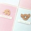 Baby Card, 5 Different Designs, Baby Boy Card, Baby Girl Card, Newborn