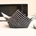 Hot Bowl Cozy   Hot Bowl Holder   Black & White   Reversible   Free Shipping