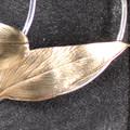 Leafy Hoop Earrings