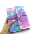 Glitter Galaxy Lined Journal, Notebook, Handbound Book, Dream Journal