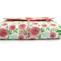English Rose Garden Lined Journal, Notebook, Handbound Book, Dream Journal