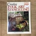 Book - Folk Art & Stencilling by Annette Allen and Peta Bennet