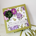 For Someone Special, Large Exploding Box Card,  Birthday Box Card, 3D Card