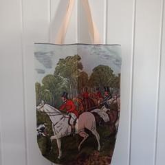 Red Coat Tote Bag