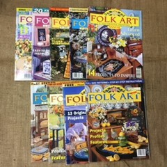 Magazine - Back Issues - Folk Art and Decorative Painting