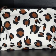 Leopard Print Pouch | Travel | Make Up | Organizer