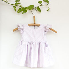 Flutter Toddler Dress with Pockets Size 1