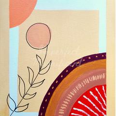 Printable Artwork 'Basking Dandelion' Digital Print