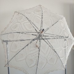Pineapple Lace Parasol