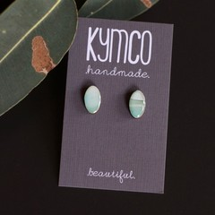 River Gum Collection earrings - petite studs