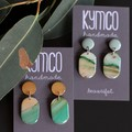River Gum Collection Earrings - small dangles
