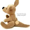 Kangaroo, FREE DELIVERY, Australian animal, crochet toy, baby boy toy, girl toy