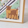 Baby Boy Card, Birthday Card, Woodland Card