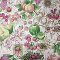 Fabric - Cotton - Fruit Pattern