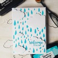 Welcome Little One, Baby Card, Baby Shower Card, New Baby Card