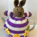 Hand Knitted Bunny Rabbit Tea Cosy