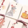 5 Mini Gift Tags | Blank Gift Cards | Cat Dog Elf Santa Kangaroo | Christmas