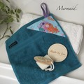 """MERMAID"" BATH WASHERS // MINI HAND TOWEL"