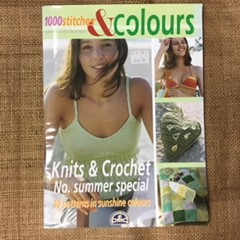 Book - 1000 Stitches and Colours - knits and crochets