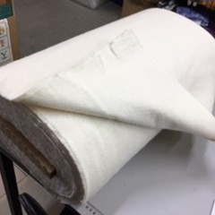 Cotton Wool Fleece Batting per metre