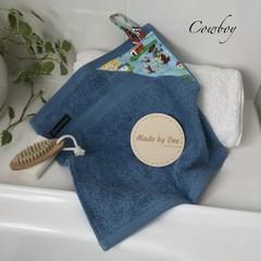 """""""COWBOY""""  BATH WASHERS // MINI HAND TOWEL"""
