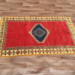 Hand knotted Stunning Taznakht Soft Berber Moroccan Berber Rug 109cm X187cm