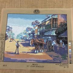 Tapestry - DMC - Milko by John Bradley