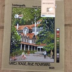 Tapestry - Baxtergrafik - Caves House, Blue Mountains